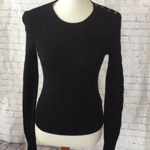 Ralph Lauren Rugby szM black sweater